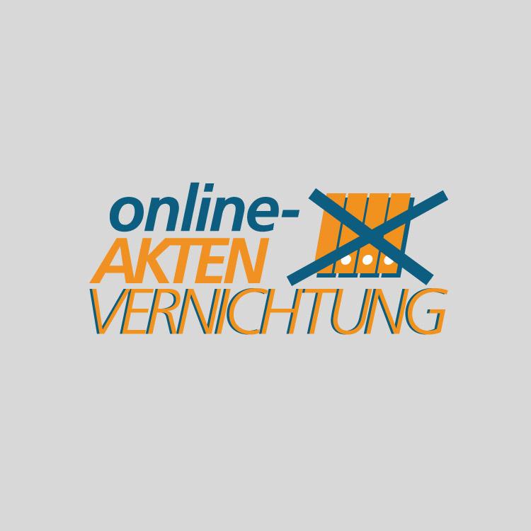 Online-Aktenvernichtung Logo - conpor