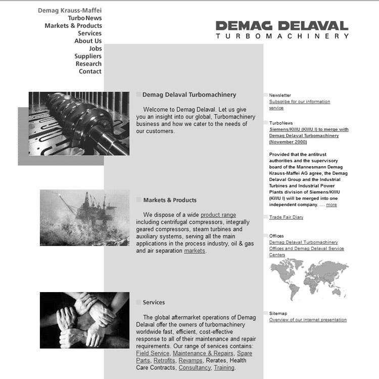 Geschichte Demag Delaval - conpor