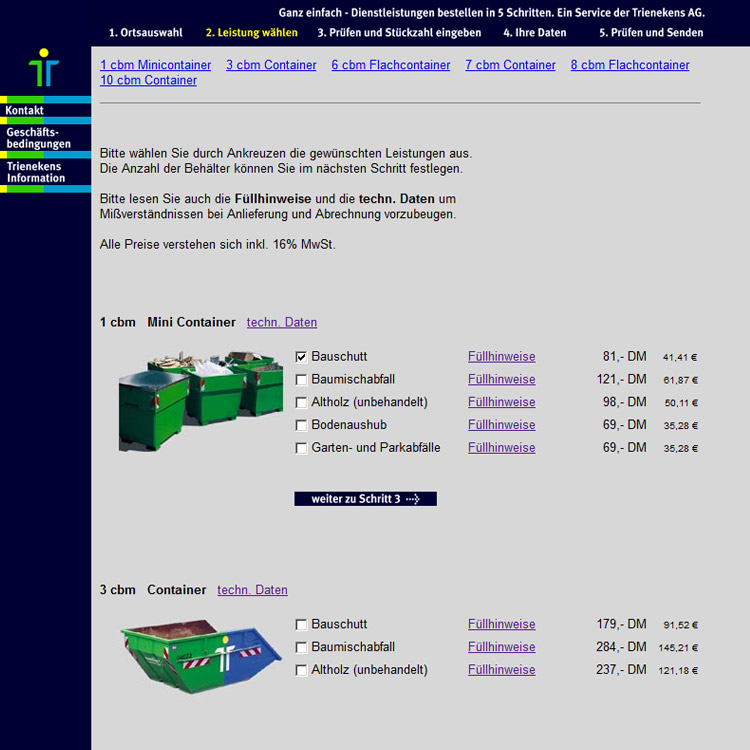 Corporate Design Treienekens Internet - conpor