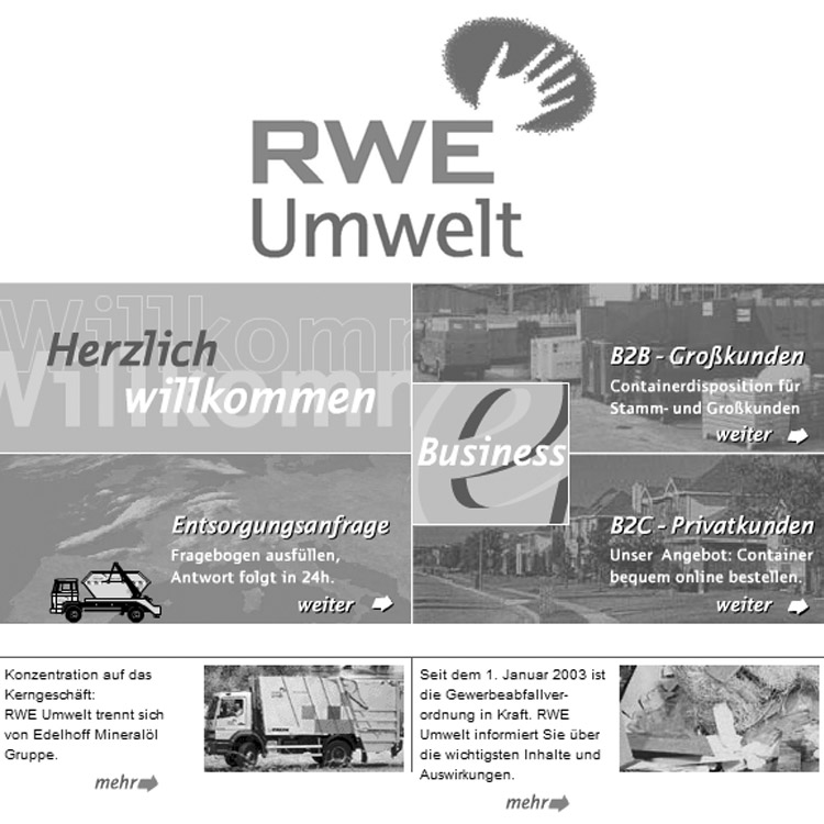 Geschichte RWE Umwelt - conpor