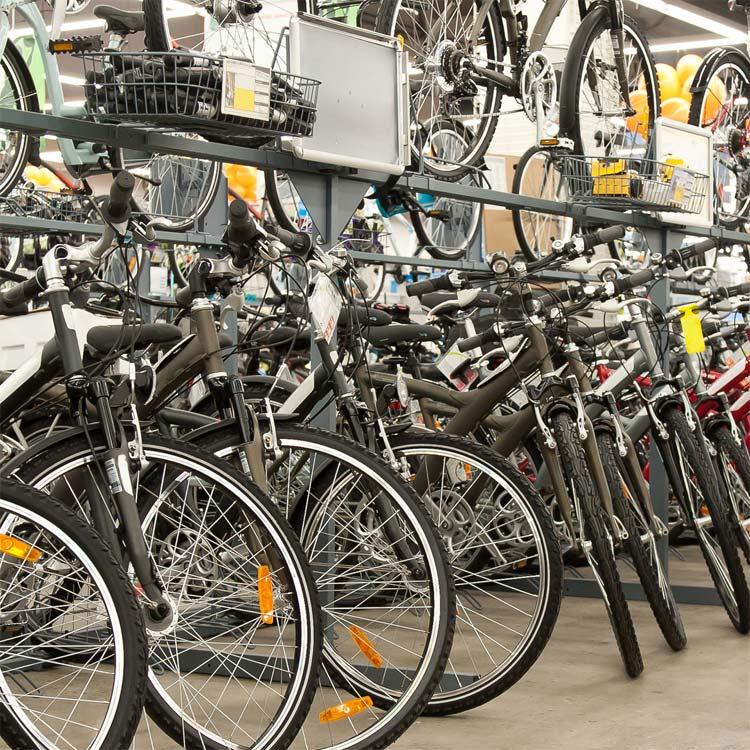 fahrrad-kauf Auswahl Fahrräder