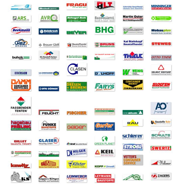 Baustoffe-liefern Logos Partner - conpor