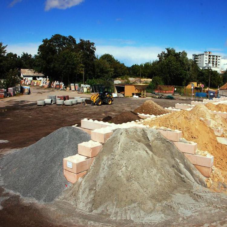 Baustoffe-liefern Händler, Hof - conpor