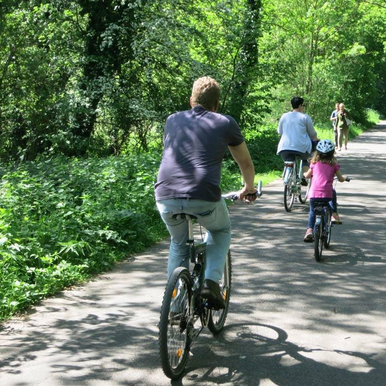 fahrrad-kauf Radtour mit Kind