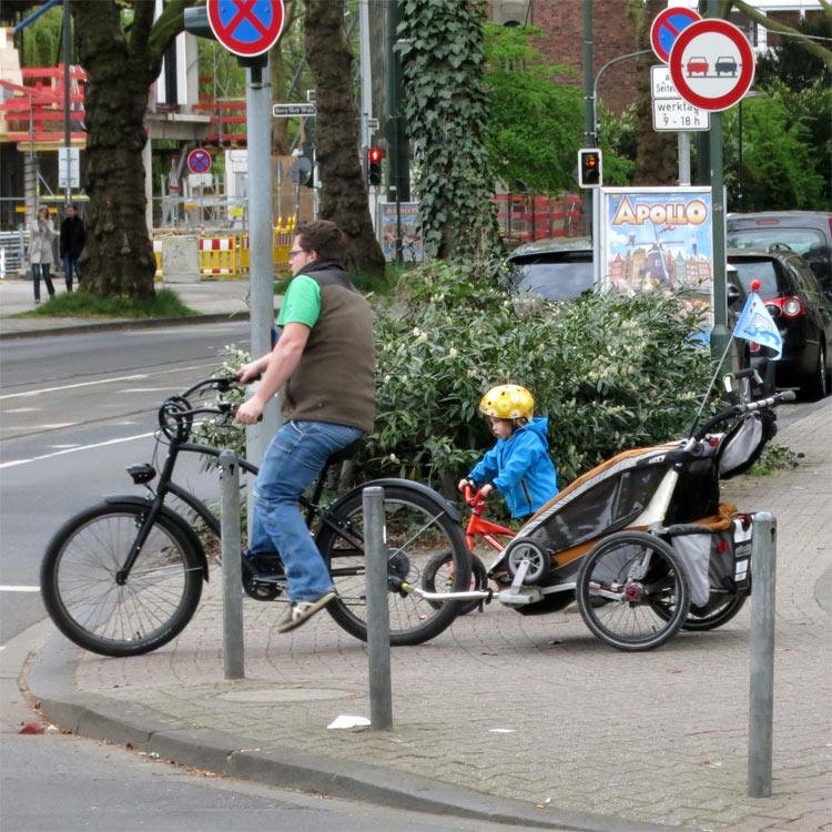fahrrad-kauf Radfahren in der Stadt